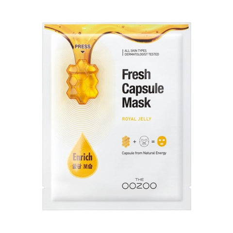 Fresh Capsule Royal Jelly Mask Oozoo Maschere Viso