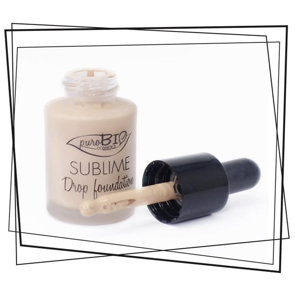 Fondotinta Liquido Sublime Drop Foundation Purobio