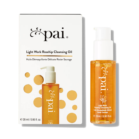 Light Work Rosehip Cleansing Oil Mini Limited Pai Skincare