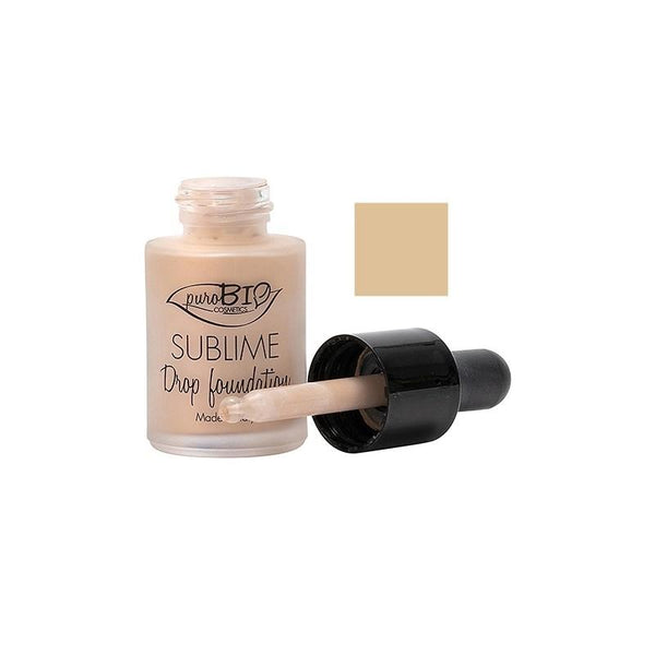 Fondotinta Liquido Sublime Drop Foundation Purobio 02