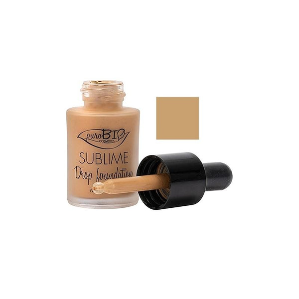 Fondotinta Liquido Sublime Drop Foundation Purobio 04