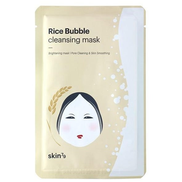 Rice Bubble Cleasing Mask Skin79