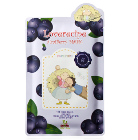 Loverecipe Acai Berry Mask Sallys Box Maschere Viso