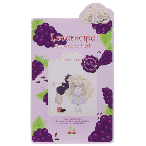 Loverecipe Grapestone Mask Sallys Box Maschere Viso