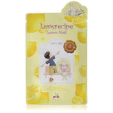Loverecipe Lemon Mask Sally's Box (schiarente, illuminante, lisciante, idratante)