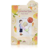 Loverecipe Pear Mask Sally's Box (nutriente, rigenerante, antiage)