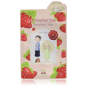 Loverecipe Strawberry Mask Sallys Box Maschere Viso