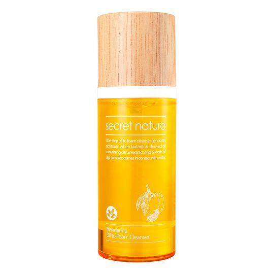 Mandarine Oil To Foam Cleanser Secret Nature Detergenti & Struccanti