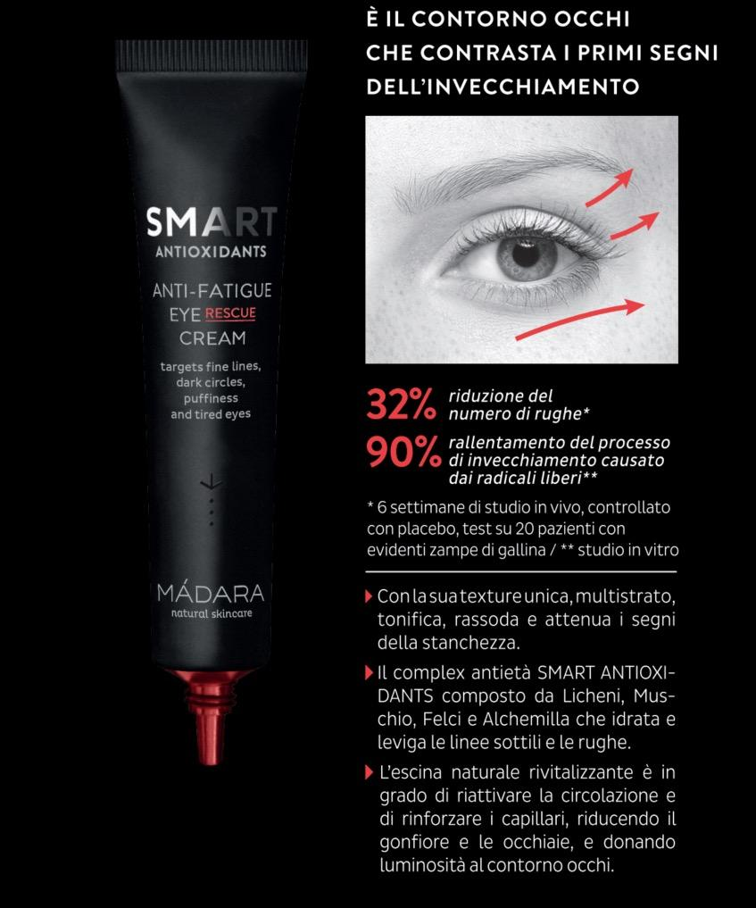 Smart Antioxidants Contorno Occhi Anti Fatica Madara