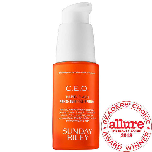 C.e.o. Rapid Flash Brightening Serum Sunday Riley Sieri Viso E Trattamenti Specifici