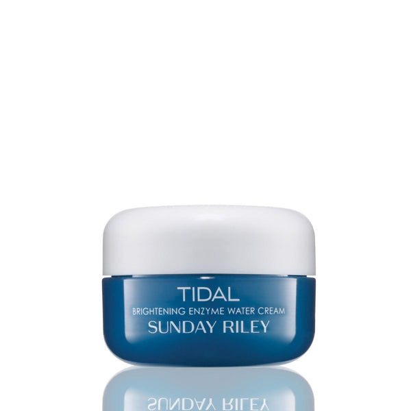 Tidal Brightening Enzyme Water Cream Sunday Riley (15 Gr) Creme Viso