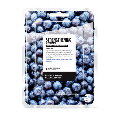 Superfood Salad for Skin Sheet Mask Blueberry Farmskin