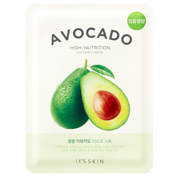 The Fresh Mask Sheet - Avocado It's Skin