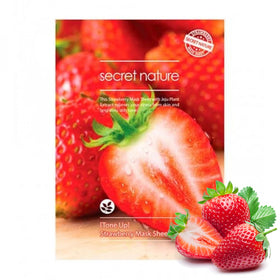 Tone Up Strawberry Mask Sheet Secret Nature