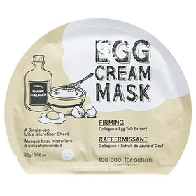 Egg Cream Mask Firming Too Cool For School Maschere Viso