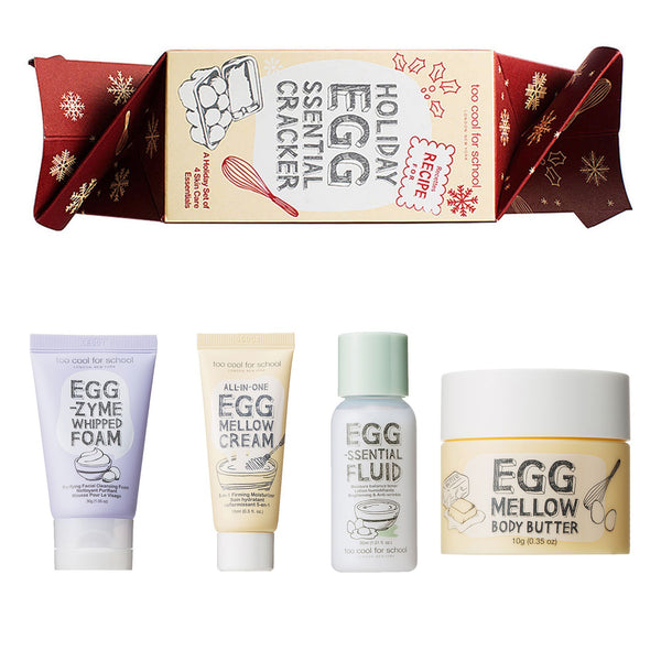Set 4 Travel Size Per La Skincare Viso Too Cool For School Creme
