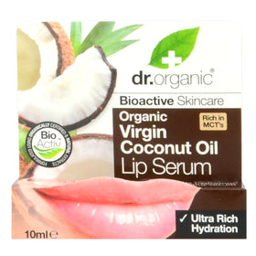 Virgin Coconut Oil Lip Serum Dr. Organic