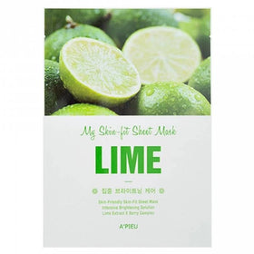 A'PIEU My Skin-Fit Sheet Mask Lime