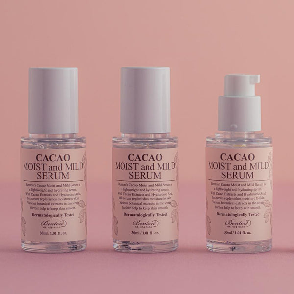 Cacao Moist and Mild Serum Benton
