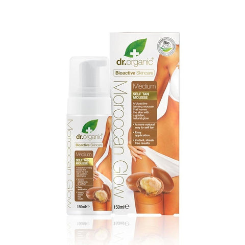 Moroccan Glow Mousse Autoabbronzante Media Dr. Organic