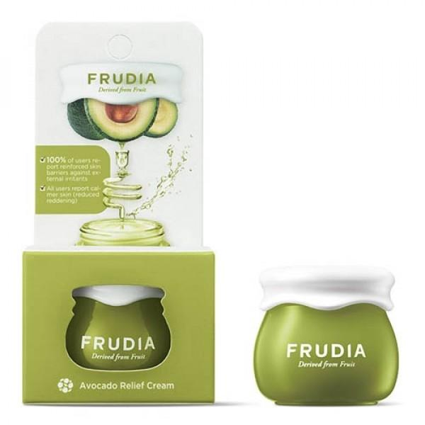 Travel Size Avocado Relief Cream Frudia Creme Viso