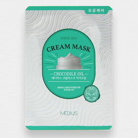 Cream Mask Crocodile Medius