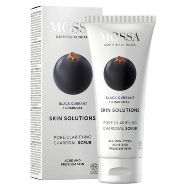 Mossa SKIN SOLUTIONS Pore Clarifying charcoal scrub