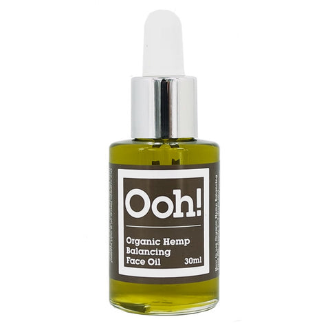 Olio Biologico di Canapa Organic Hemp Balancing Face Oils of Heaven