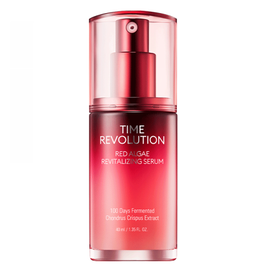 Time Revolution Red Algae Serum Missha