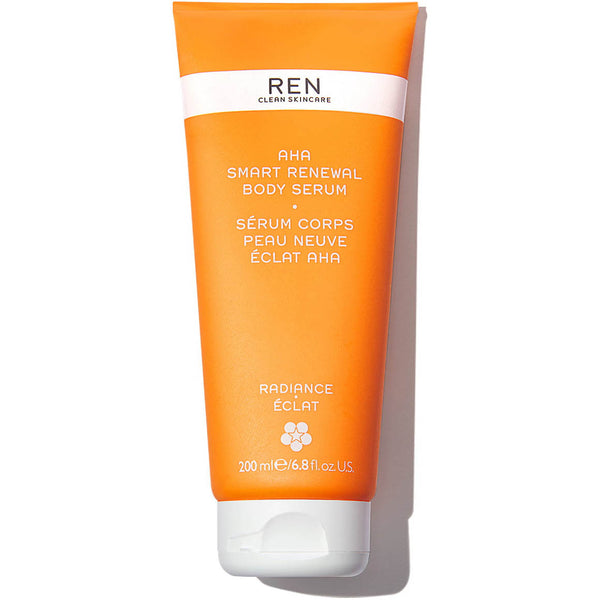 AHA Smart Renewal Body Serum Pelle Luminosa REN Clean Skincare
