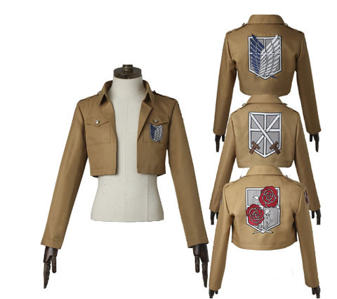 Rivaille, Mikasa and Dot Pixis jackets, Shingeki no Kyojin, Attack on Titan - Cosware-store.com