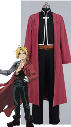 Edward Elric Costume, Fullmetal Alchemist: Brotherhood