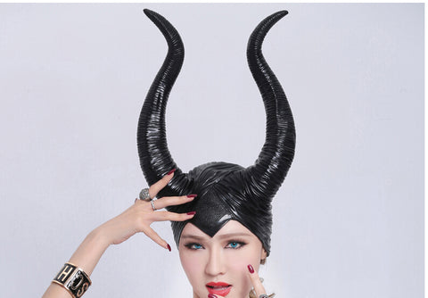 Wicked fairy godmother - headpiece with horns - Cosware-store.com