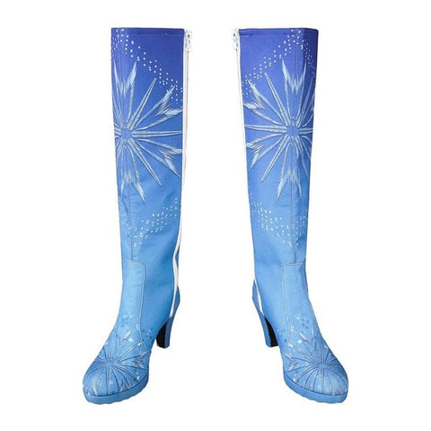 Princess Elsa Blue Boots, Frozen 2