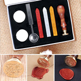 Special stamp, envelope, wax your secret mail, 12 stamp variations and 3 wax colors! - Cosware-store.com