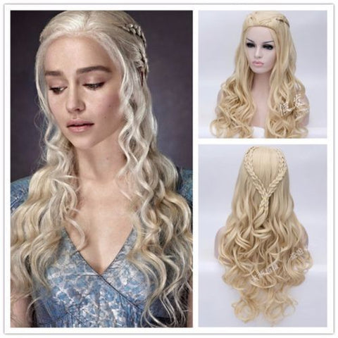 Daenerys Targaryen;s style wig for GoT cosplay - Cosware-store.com