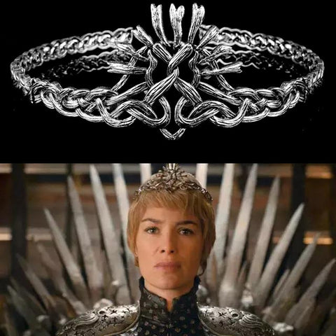 Bronze or Silver? Its your crown for the next GoT cosplay, Cersei Lannister's style - Cosware-store.com