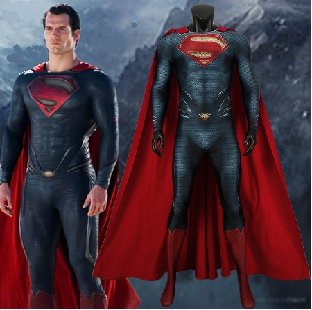 "Superman Clark Kent outfit, cosplay costume ""Man Of Steel"" - Cosware-store.com"