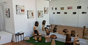 Upstairs Art Gallery Now open!