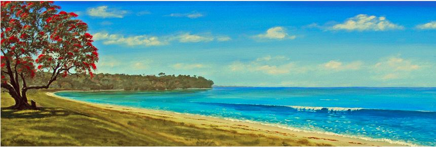 Cockle Bay, Auckland - Ruth Reid