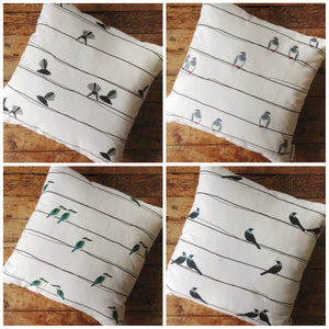 Plum Billy - Cushion Covers - Bird on a Wire