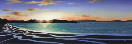 Golden Bay Sunset - Linelle Stacey