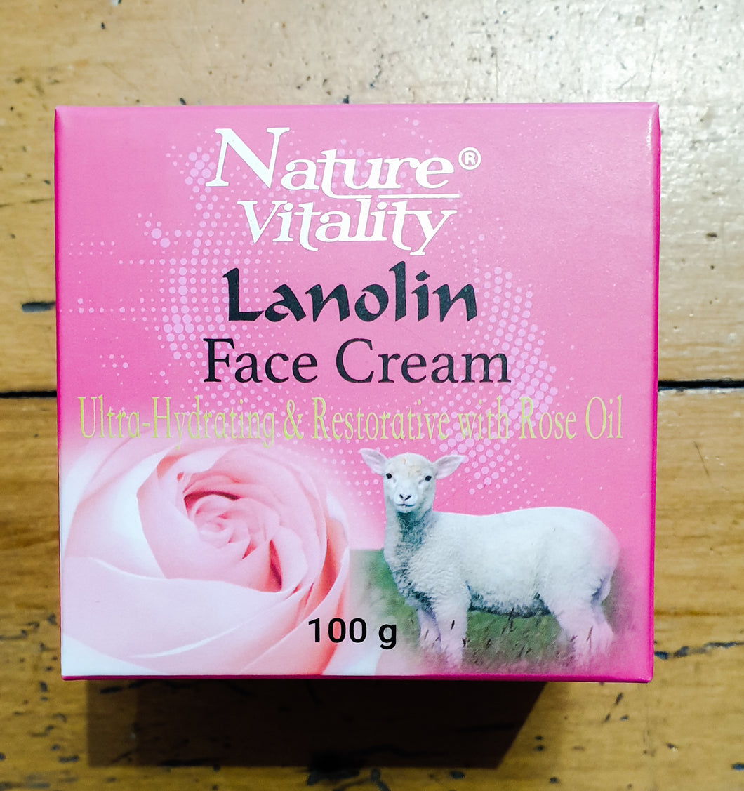 Nature Vitality - Lanolin Face Cream