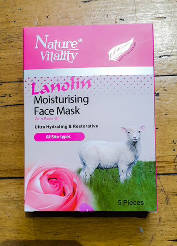 Nature Vitality - Moisturising Face Mask with Rose Oil