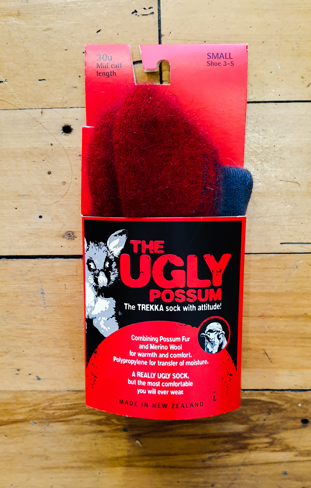 Ugly Possum Socks