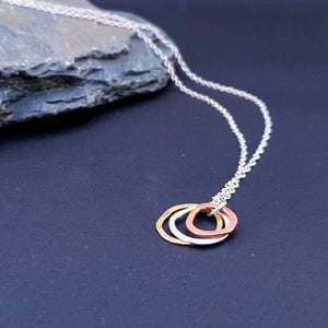 Pebble Mini Trio Necklace - Sonia Therese