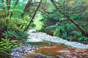 Stag Creek Fiordland - Ruth Reid