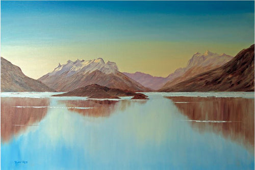 Towards Glenorchy, Queenstown - Ruth Reid