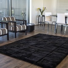 Shearling Designer Rug - Orbit