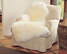 Natural Longwool Sheepskin Rugs - One and One Half